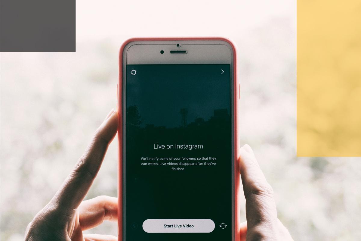 Sehr erfolgreiches Content Format: Instagram Live (Foto: © unsplash.com/@oneshotespresso)